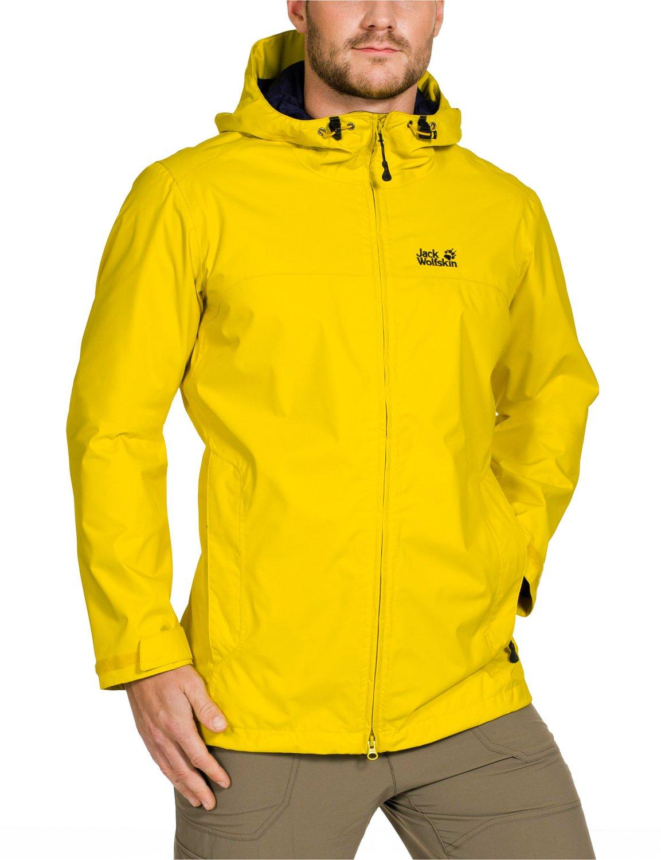 Jack Wolfskin Herren Wetterschutzjacke Arroyo Jacket, Dark Sulphur, XXXL, 1104292-3055007