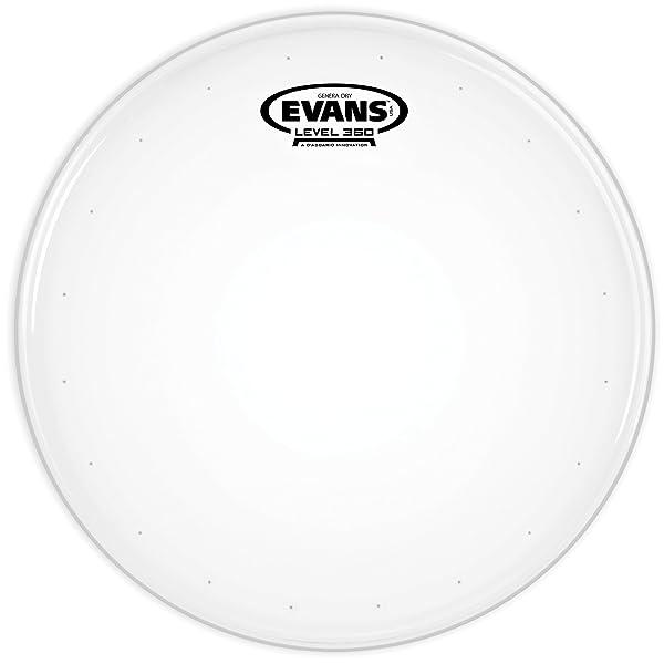 Evans Genera Dry Drum Head, 14 Inch (Tamaño: 14 Inch)