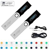 Ledger Nano S Bitcoin Wallet Ethereum Crypto Altcoin Litecoin Ripple With MicroUSB Cable Lanyard 2 Pack