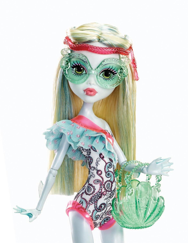 Monster High Lagoona Blue Swim Doll Monster High Lagoona Blue