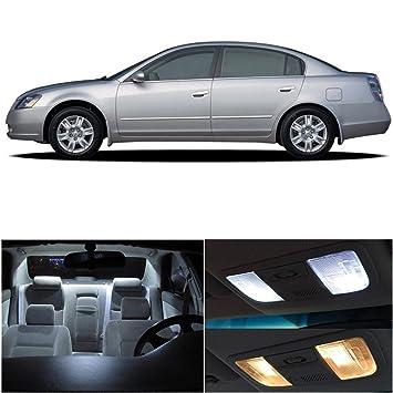 Nissan altima 2002 2006 xenon white premium led interior - 2006 nissan altima interior lights ...