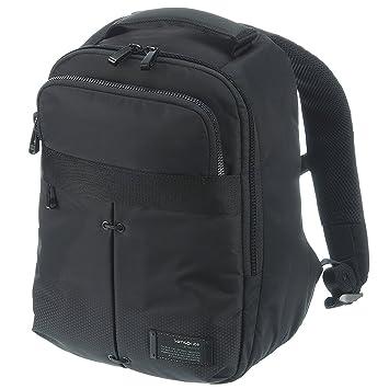14264c29ba Samsonite Cityvibe Zaino Porta PC, , 13 litri, 36 cm, Jet Black: Valigeria:  @ Online