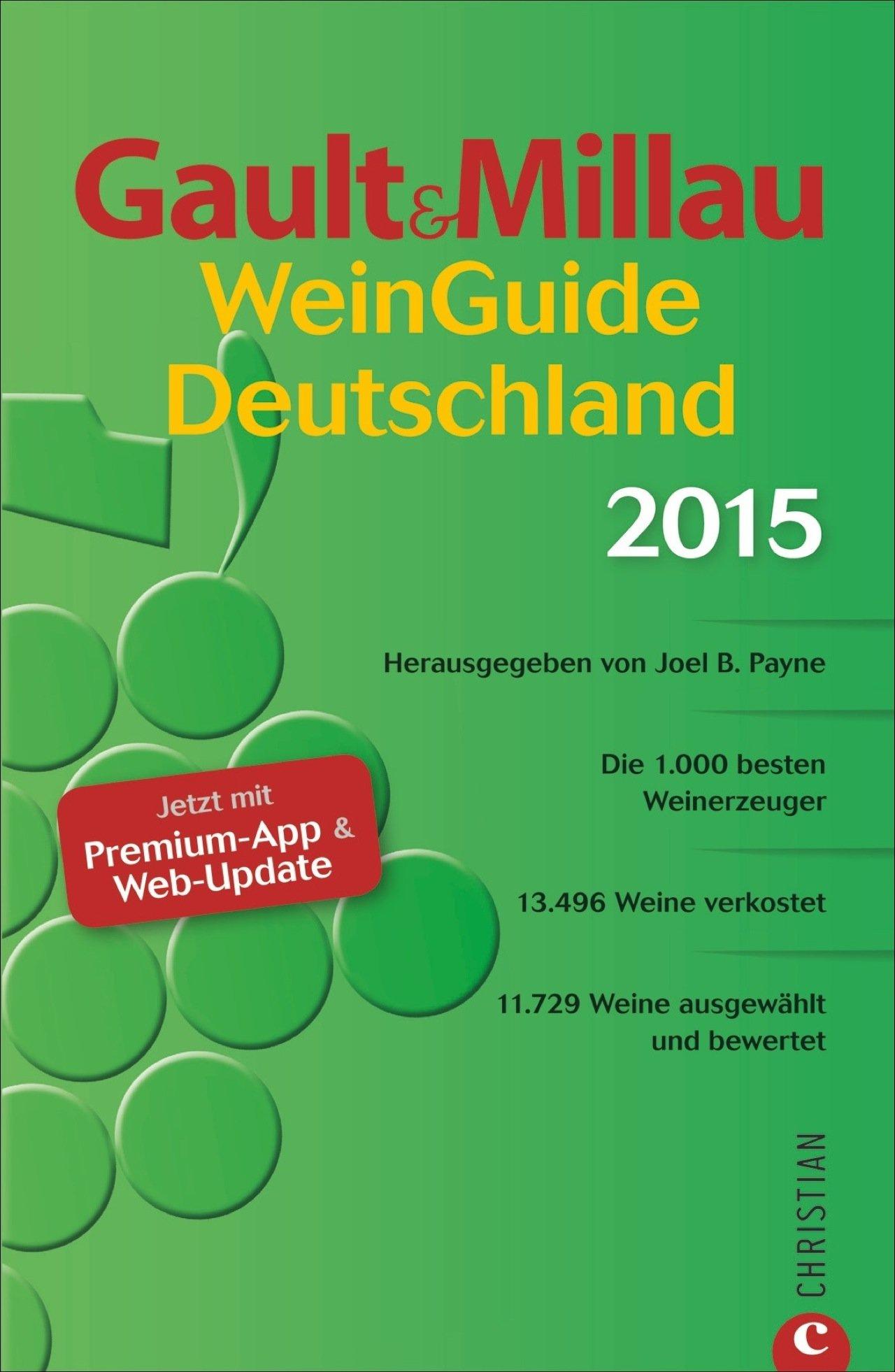 Buch: Gault&Millau WeinGuide Deutschland 2015