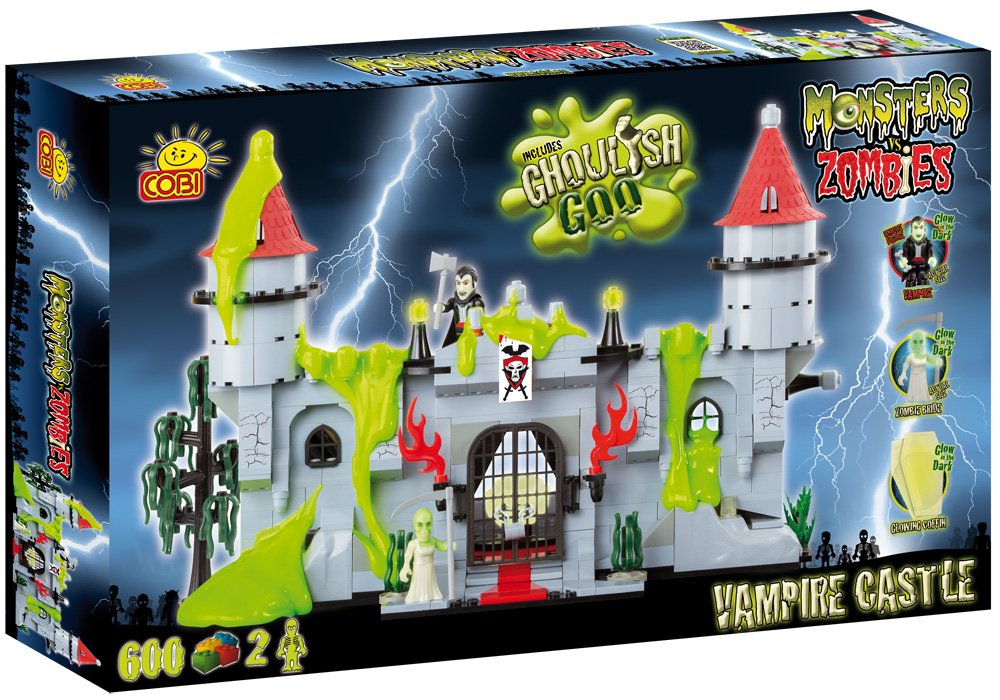 Monsters vs Zombies: Vampir Schloss (Vampire Castle) Bausteinkasten online bestellen