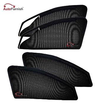 Autofurnish Magnetic Zipper Sun Shades Car Curtains For Maruti Suzuki SX4  (4 Pcs.)