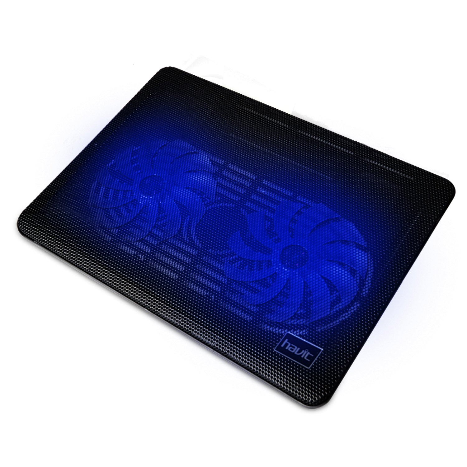 "HAVIT HV-F2033 14-15.6"" Super-slim Laptop Cooler Cooling Pad with Turbo Dual Fan (2 Fans)"