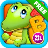 ABC Alphabet Aquarium School Vol 1: Animated Puzzle Learning Games with Letters and Animals for Preschool & Kindergarten Explorers! (Free)