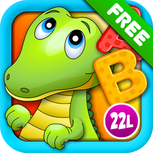 Preschool Educational Games – ABC Alphabet Aquarium School Vol 1 (Essential Apps for Kids): Animated Puzzle Learning Games with Letters and Animals for Preschool & Kindergarten Explorers! (Free) image