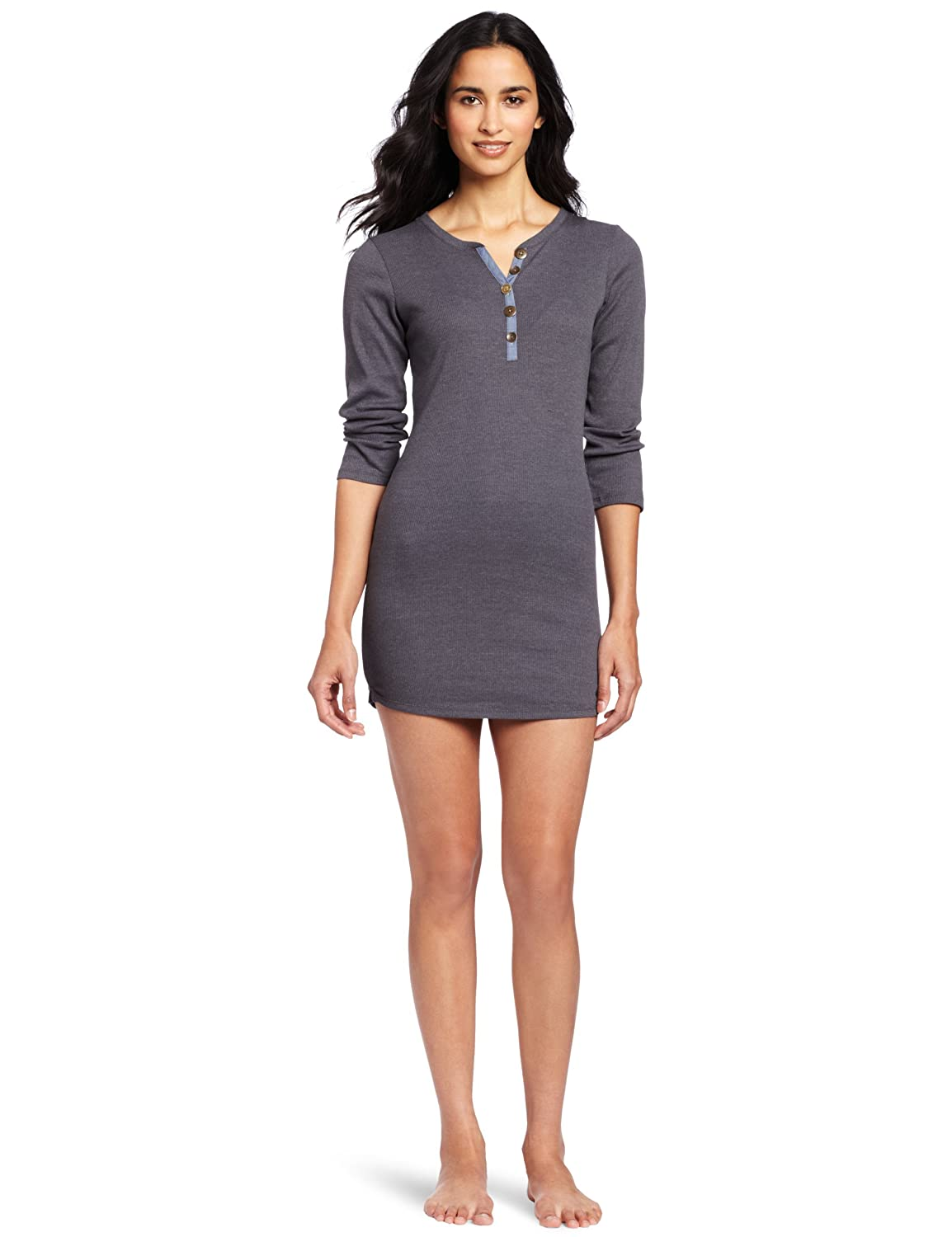 Fancy Outlook Fitted Ribbed Sleep Dress