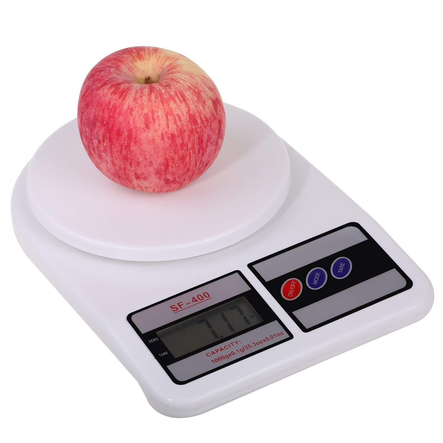 Electronic Digital Weight Scale Lcd Kitchen Weighing Scale Machine Cap Sf 400 Ebay