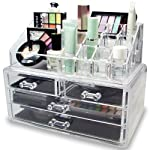 Acrylic MAekup Storage and Jewelry & Cosmetic Storage Display Box
