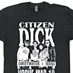Citizen Dick T Shirts Poster Design Punk Nirvana Rock Vintage Smashing Concert Tee Grunge Pumpkins Seattle Shirtmandude