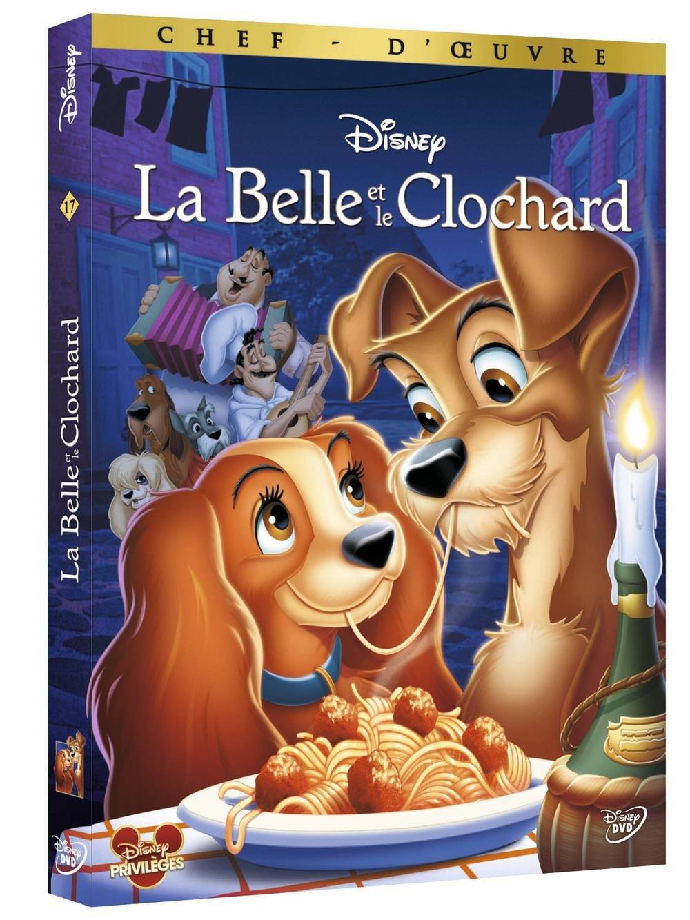 La Belle et le clochard = Lady and the tramp / Clyde Geronimi; Wilfred Jackson; Hamilton Luske, Réal. | Geronimi, Clyde. Monteur