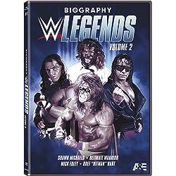 BIOGRAPHY: WWE LEGENDS VOLUME 2 DVD