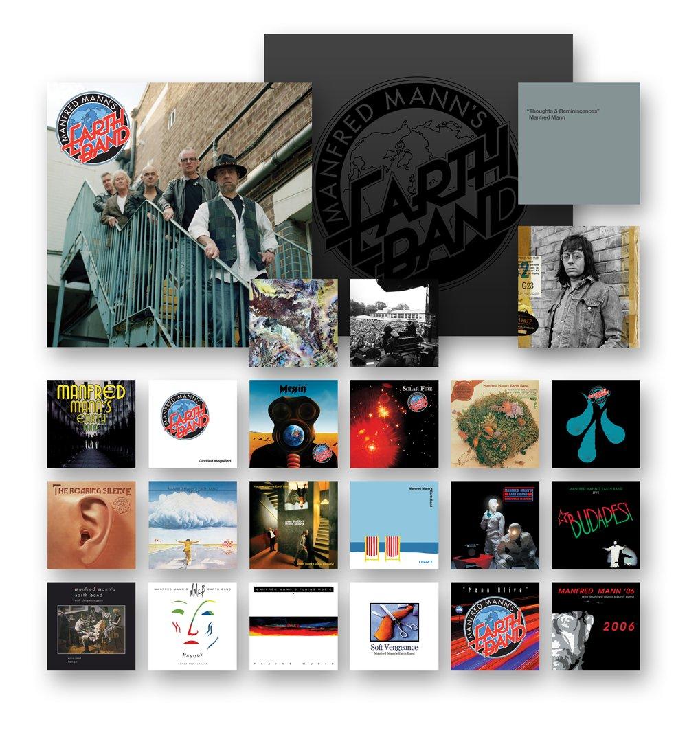 Manfred Mann's Earth Band – 40th Anniversary Box Set (21CDs) (2011) [FLAC]