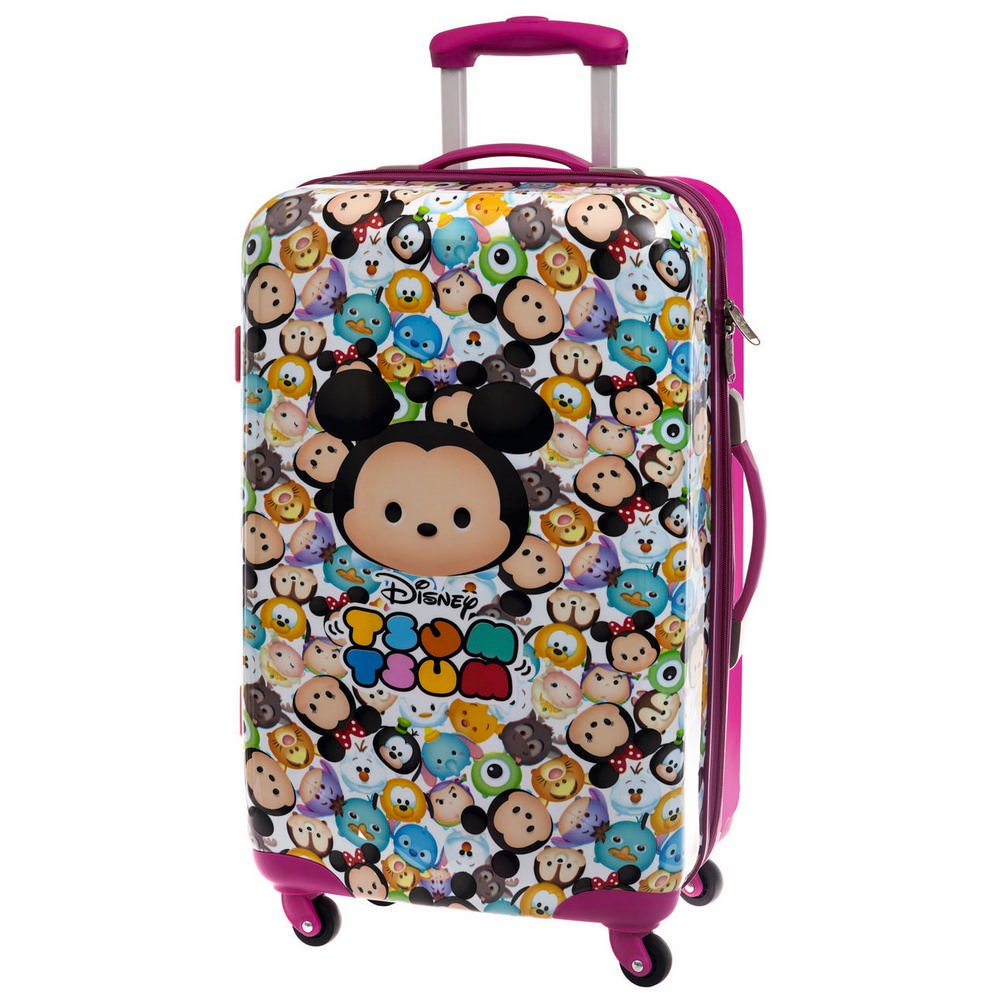 Tsum Tsum ABS Koffer Kindergepäck, 53 Liter, Pink