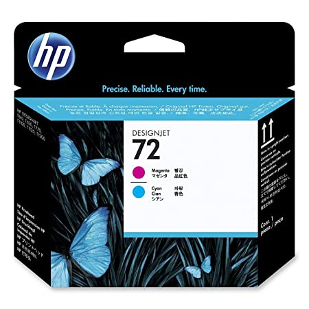 HP 72 Tête d'impression 1 x Cyan / Magenta