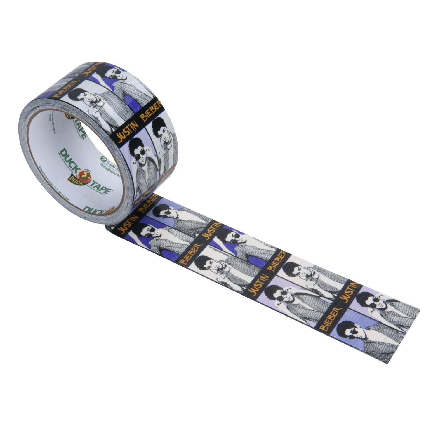 justin bieber duct tape