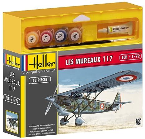 Heller - 50215 - Maquette - Aviation - Les Mureaux 117 - Echelle 1/72 - Kit
