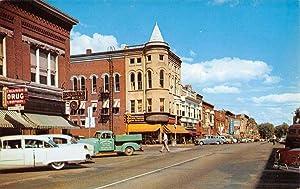 Van Buren Street in Columbia City, Indiana
