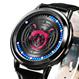Wildforlife Anime Fullmetal Alchemist: Brotherhood Ouroboros Collector's Edition Touch LED Watch