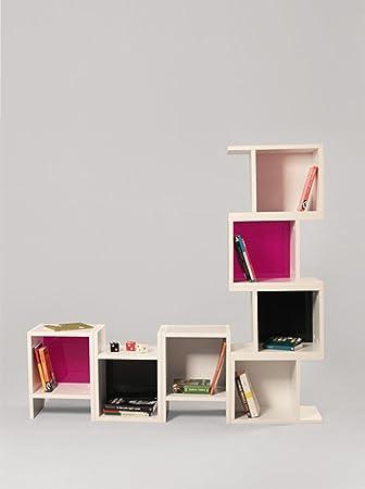 Libreria Piu Bianco Nero Viola - M.KT.02.11288.3
