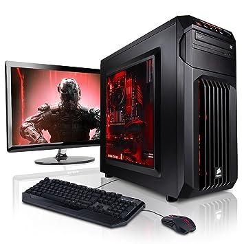 "Megaport Super Méga Pack - PC Gamer • Ecran LED 22"" • Claviers de jeu et Souris • Intel Core i5-6500 •GeForce GTX960 • 16Go • 1To •Win7 ordinateur de bureau pc gaming pc de bureau ordinateur gamer"