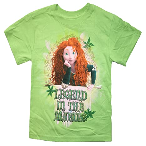 Merida green tee for Girls