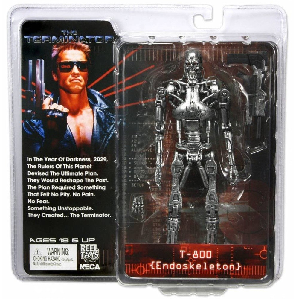 "ROBOCOP VERSUS TERMINATOR 7/"" ACTION FIGURE ULTIMATE 2-PACK NECA REEL TOYS"
