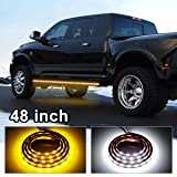 Partsam Truck Running Board LED Lighting Kit 48