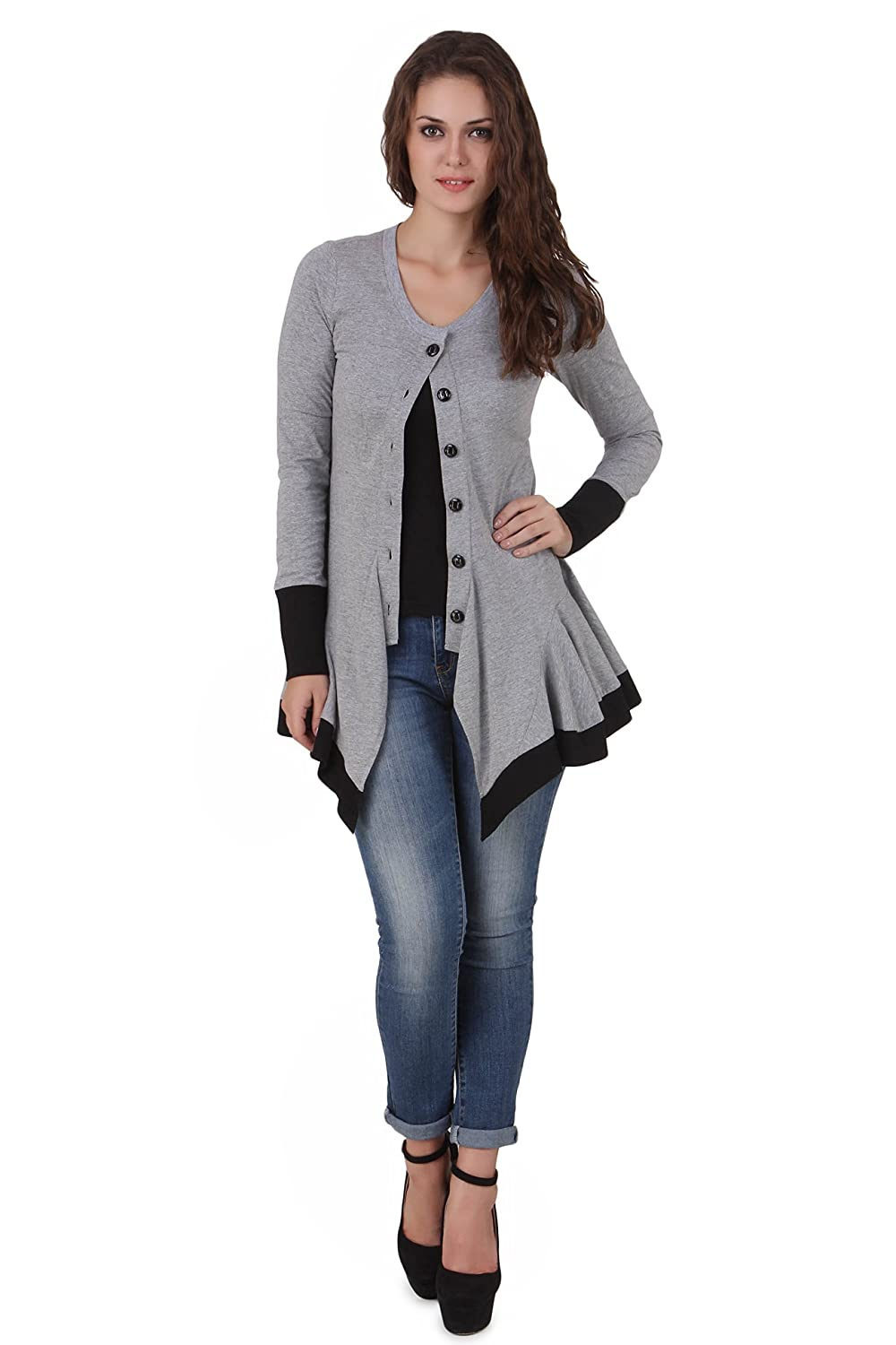 Winter Wear Store!! Upto 70% off On Top Brands By Amazon | TEXCO SUMMER/WINTER ROUNDED NECK SHRUG @ Rs.799