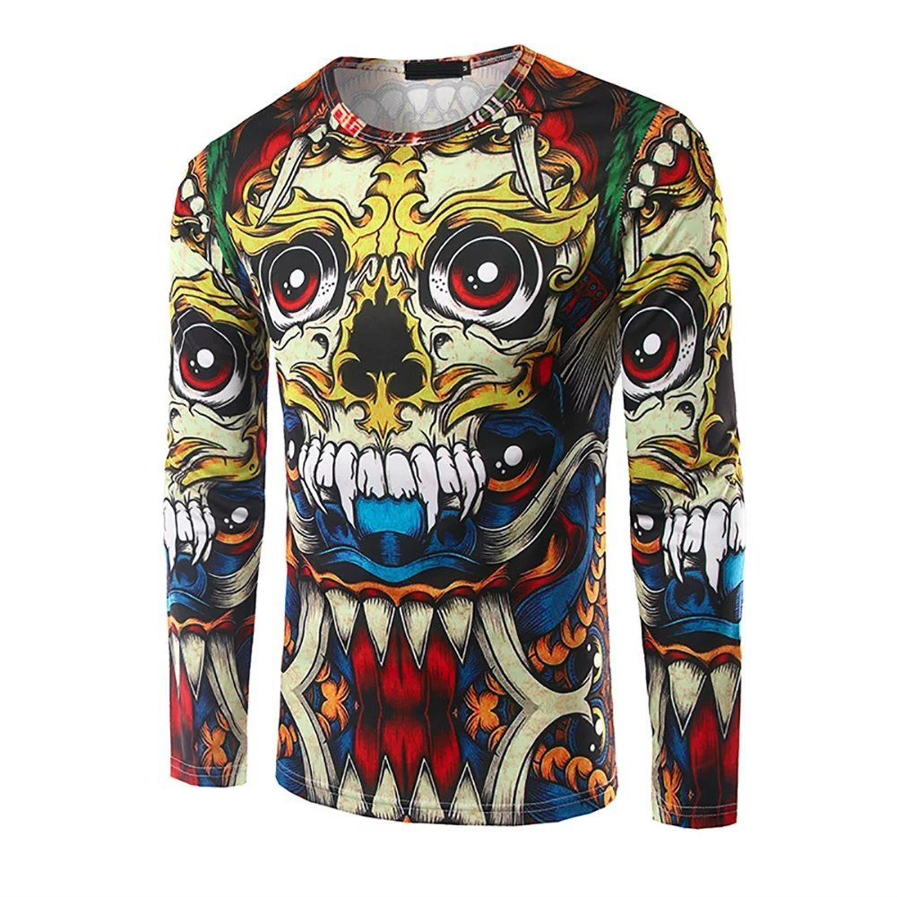 Buy Totem Print Casual Shirt Now!
