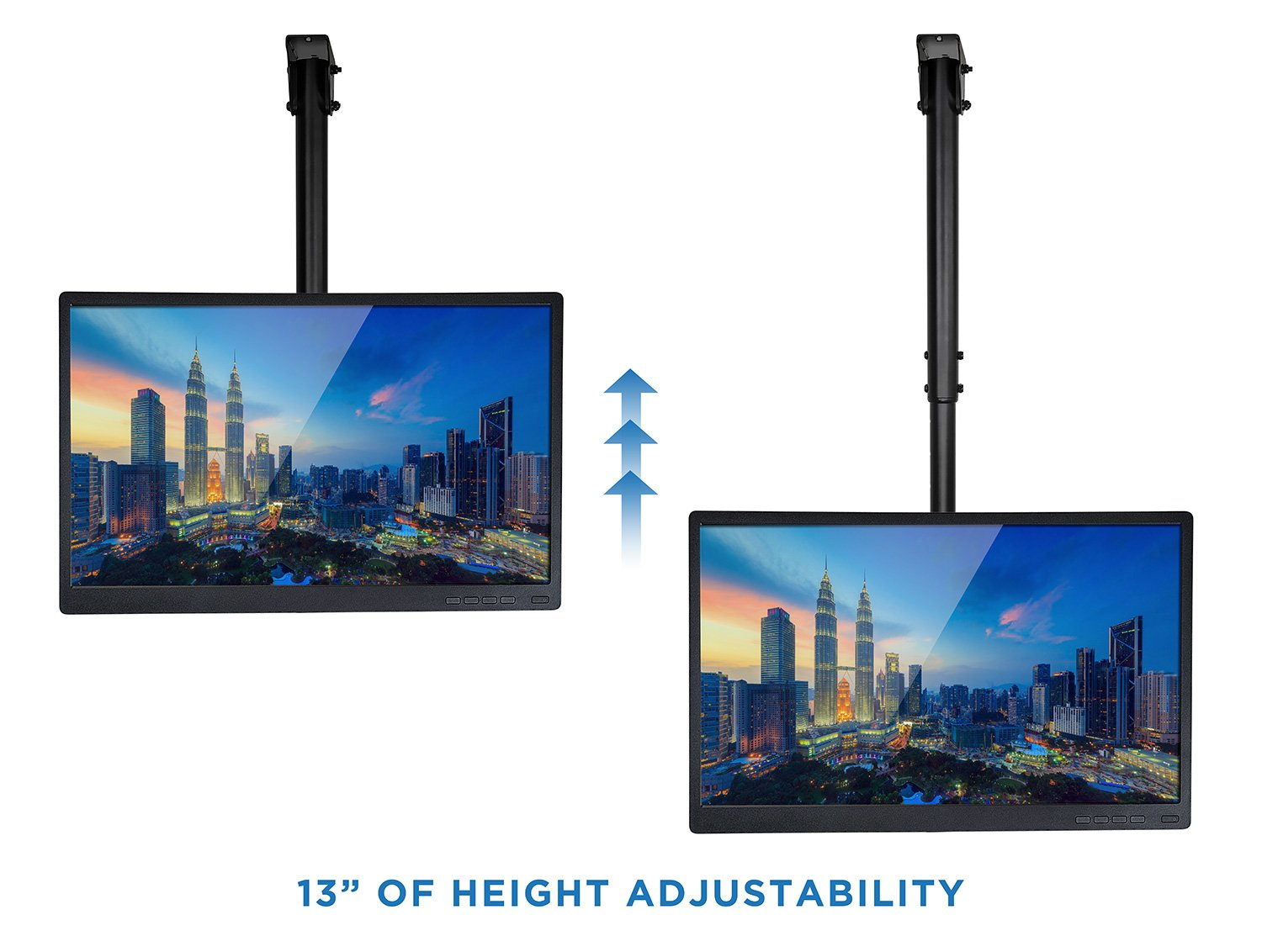 100 60 inch tv ceiling mount mounts products sanus