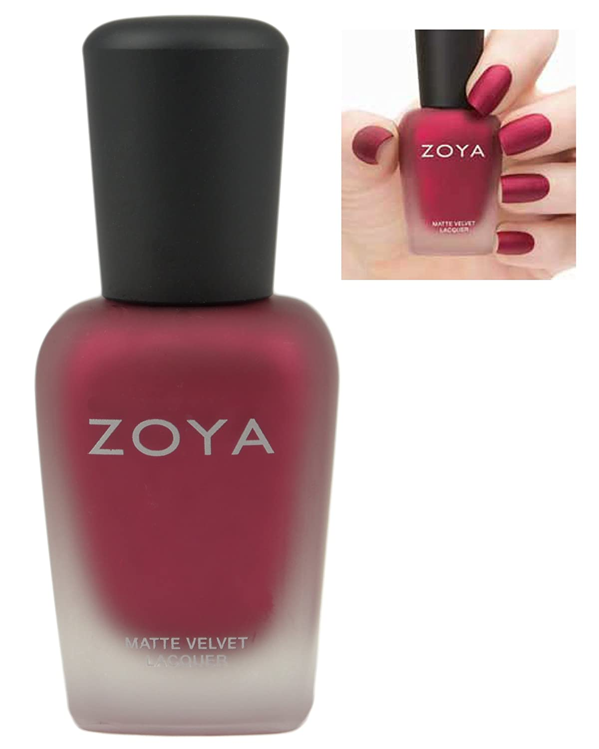 Buy zoya matte nail polish velvet limit edition (posh zp500 ...