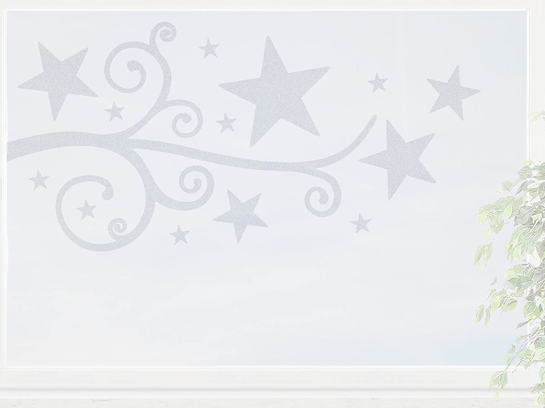 wandfabrik – Fenstersticker 1 Ranke mit Sternen -60cm Motiv (St4R60) – frosty – 798 – (Xt) online bestellen