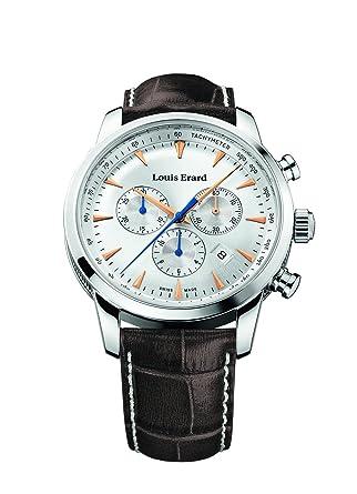 Louis Erard Heritage Collection Swiss Quartz Silver Dial Men's Watch 13900AA11.BDC101