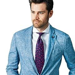 Penrose Silk Rose Tie