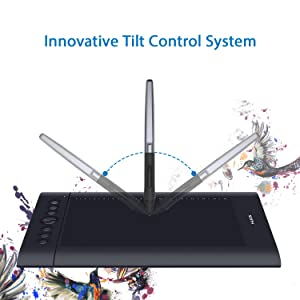 HUION H610 Pro V2 Drawing Tablet, Upgraded Battery-Free