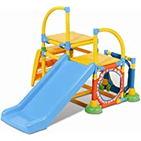 Grow'n Up Climb n Slide Gym (Multi Color)