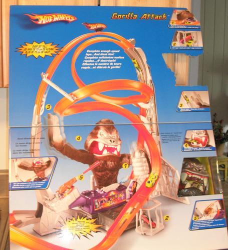 hot wheels gorilla attack
