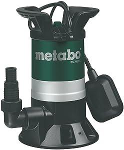 Metabo Schmutzwasserpumpe PS7500S, Mehrfarbig, 450W, 230Volt, 50Hz  GartenKritiken und weitere Informationen