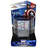 Disney Infinity 2.0 Collector's Edition Captain America Figure with Display Case