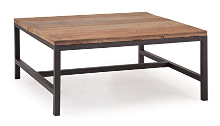Zuo Gilman Square Coffee Table, Distressed Natural