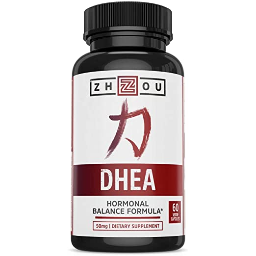 Zhou Nutrition DHEA 50mg Supplement