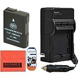 Paquete de cargador y batería BM Premium ENEL14 para Nikon  Coolpix P7000 P7100 P7700 P7800 D3100 D3200 D3300 D5100 D5200 D5300 DF y cámaras digitales SLR y más!!