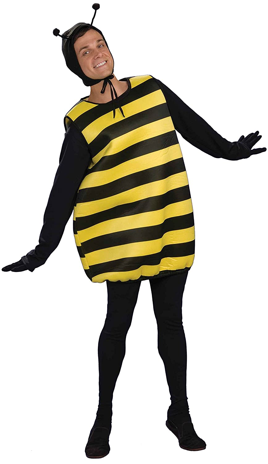 A Bumble Bee costume is just what you need to fly to your party in style. These yellow and black bee outfits are lots of fun, and sold at a price that won't sting. Order yours today!