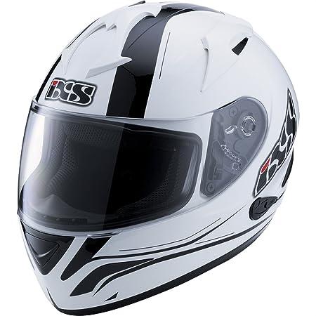 IXS - Casque - HX275 NIGHT - Couleur : Blanc/Noir - Taille : S