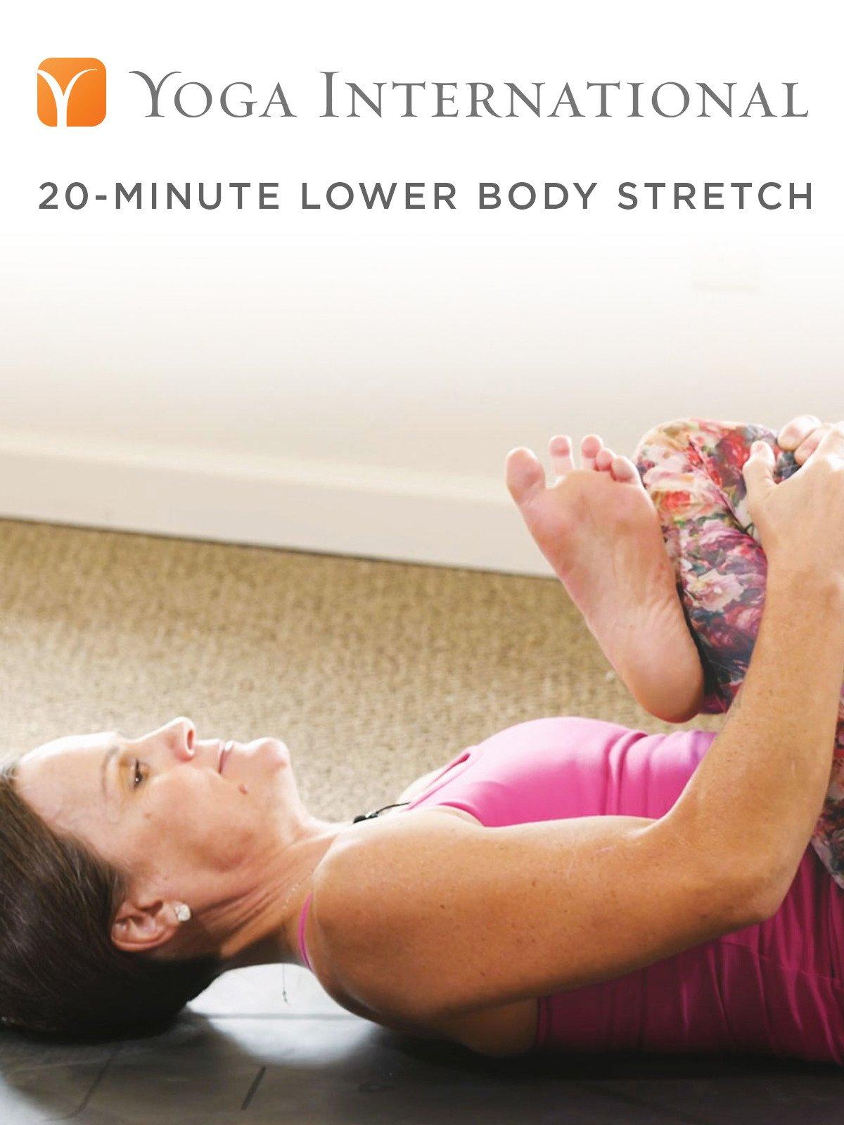 20-Minute Lower Body Stretch