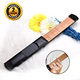OIBTECH Pocket Guitar,6 Fret Strings Portable Guitar Practice Tool Gadget with Tuning Tool For Beginner Fingering Chord Trainer (Color: Black 6 strings)