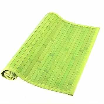 Tendance tapis bambou vert vert taille 50 x 80 cm cuisine cm cu - Tapis bambou grande taille ...